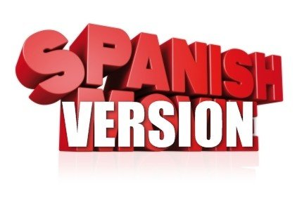 "Picture of Logo That Reads ""Spanish Version"""
