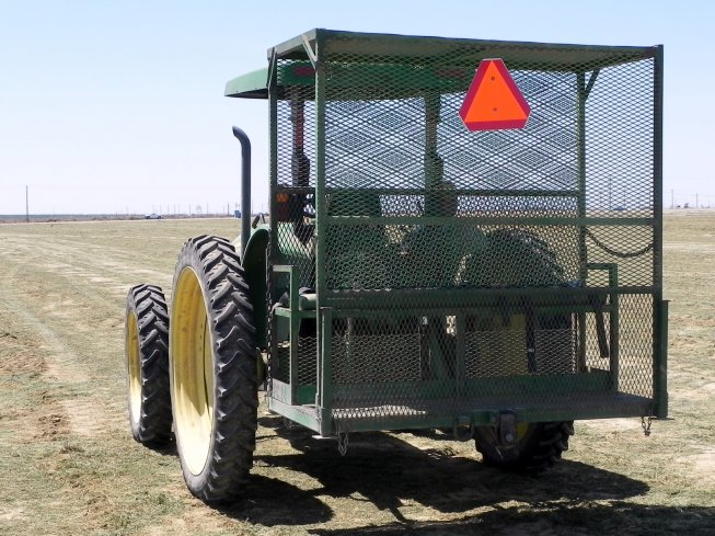 Grimmway Granted Permanent Variance to Use Tractor-Mounted Personnel Platforms