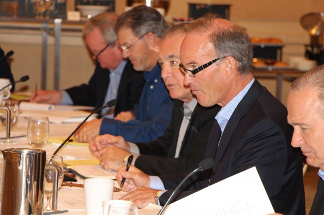 WG Directors Deliberate Issues at Orange County Board Meeting