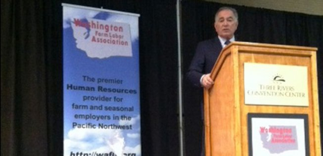 Tom Nassif Speaking at the Farm Labor Conference in Washington State