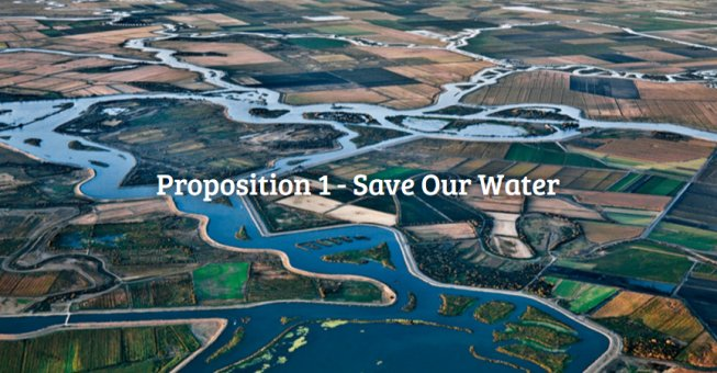 Strong Editorial Support Across California for Water Bond