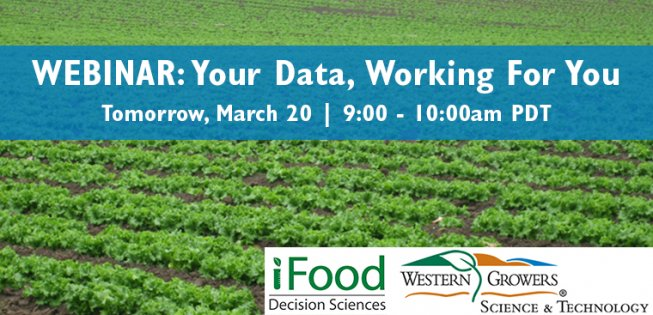 Webinar Tomorrow – How to Make Your Data Work for You