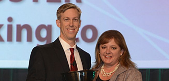 Picture of WG Member, Lori Koster and The Packer editor, Greg Johnson