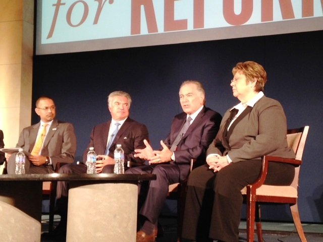 Picture of president and CEO Tom Nassif at Immigration Reform Event in DC