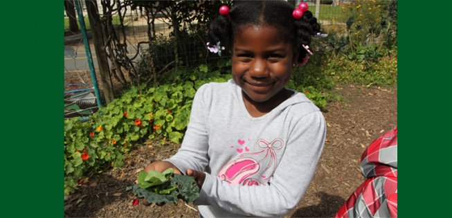 The Garden and Kids Thrive at Malcolm X School in Berkeley