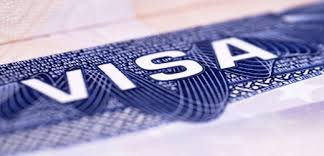 Close-up Picture of Visa