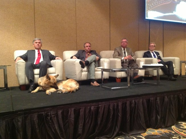 The Water & Money panel at the WG Annual Meeting