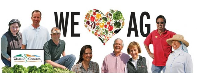 Picture of 'We Love Ag' Sign