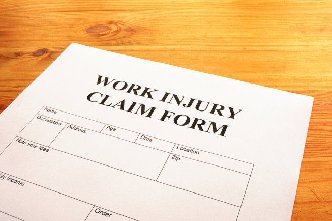 Picture of Workers Comp Claim Form