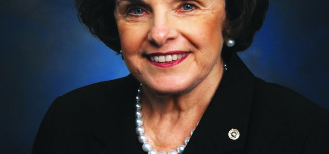 California Senator Dianne Feinstein is advocating for increased water storage.