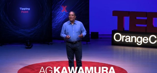 "A.G. Kawamura's TEDx Talk – ""Food Is a Privilege, Not a Right"""