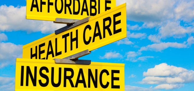 Picture of Affordable Health Care Insurance Sign