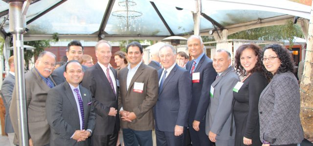 WG Board held a reception for the Latino Caucus