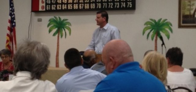 Rep. Valadao recently held a town hall meeting in Selma.