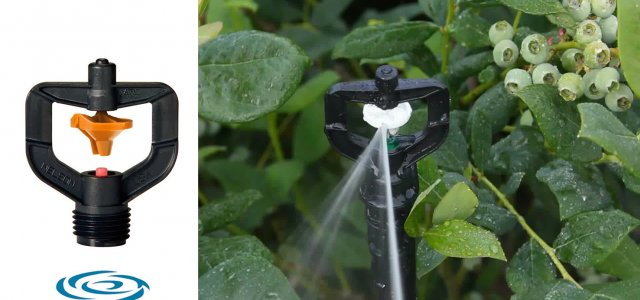 Sprinkler efficiency has improved tremendously in recent years.