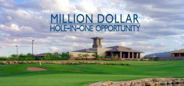 Million Dollar Hole-in-One Opportunity Goes to 'Single Pay-Out' Prize