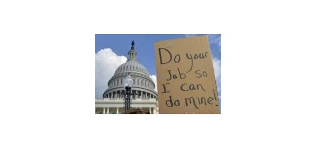 "Picture of Sign that reads: ""Do your job so I can do mine!"""