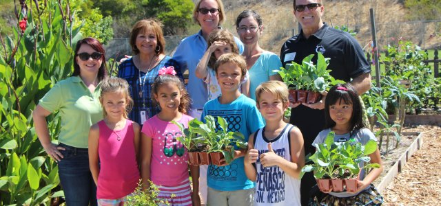 Promoting Good Nutrition and Fighting Cancer with School Gardens