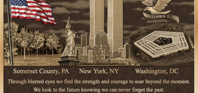 NEVER FORGET – GOD BLESS AMERICA