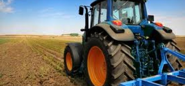 Picture of Tractor in Field